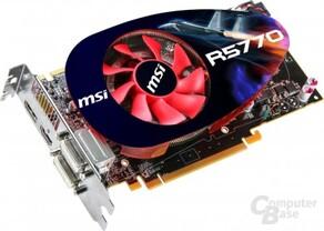 MSI Radeon HD 5770 mit neuem Kühler