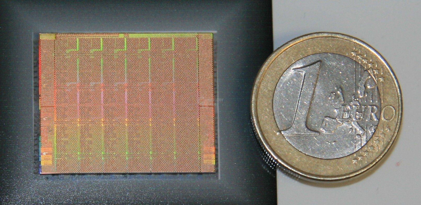 Die eines 48-Kern-Prozessors