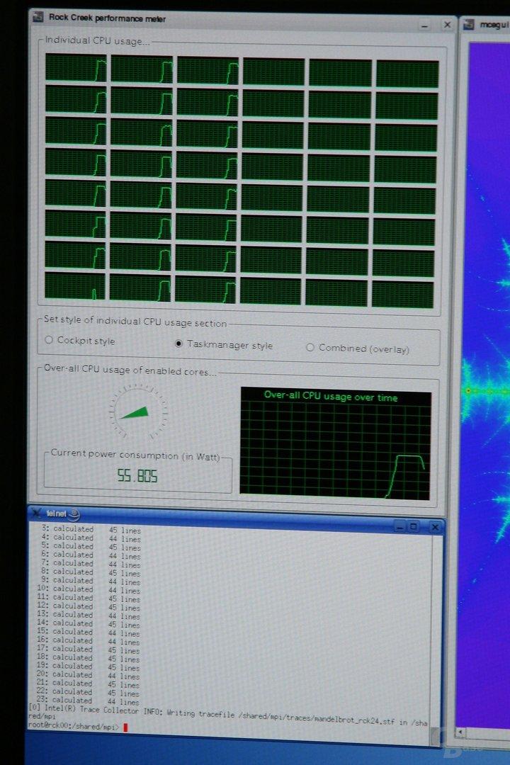 48-Kern-Prozessor im Einsatz mit 24 Kernen