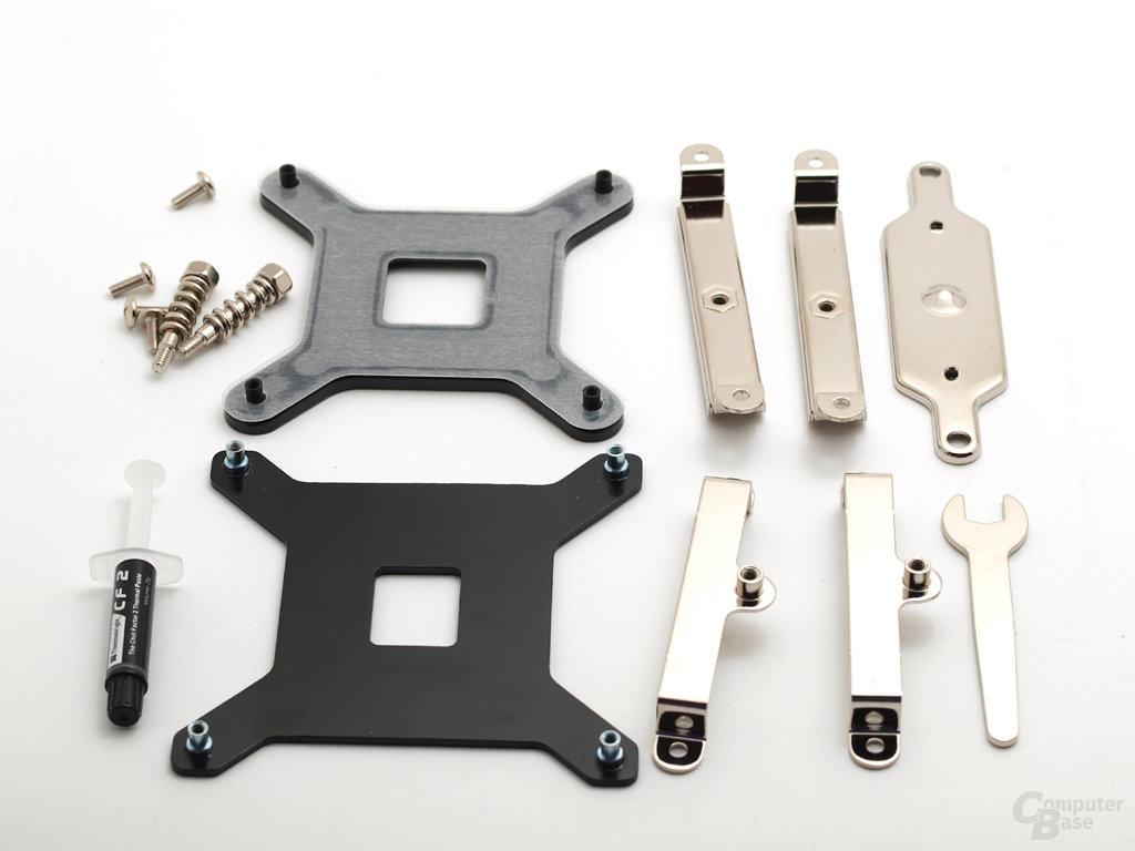 Montagematerial für Sockel 775 und 1366