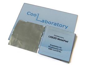 Coollaboratory Liquid MetalPad – 3xCPU 1xReinigungsset