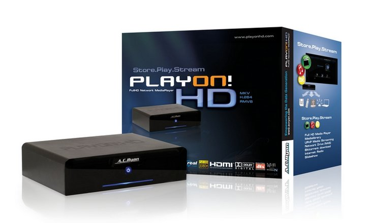 AC Ryan ACR-PV73100-500 Playon! Full HD NMP – 500GB HDD inkl.