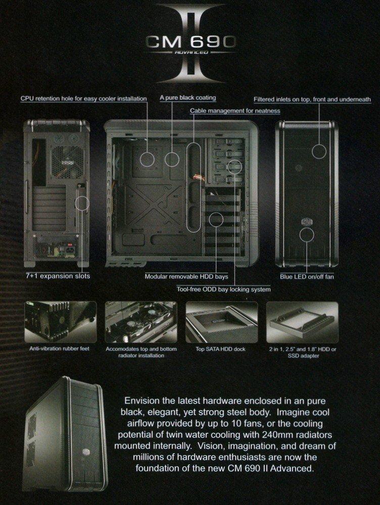 Cooler Master CM 690 II - Details
