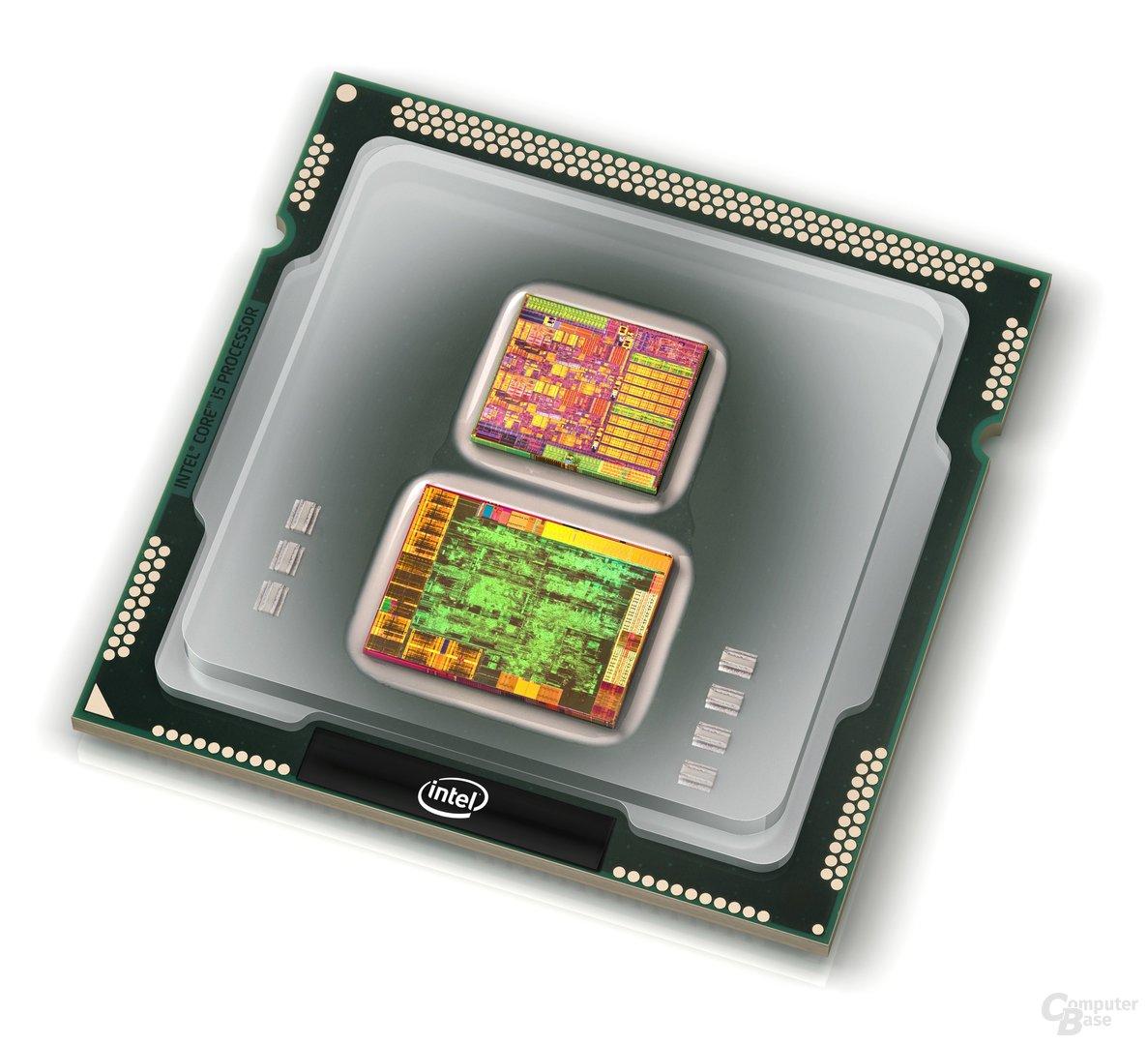 Intel Core i5 mit CPU und GPU