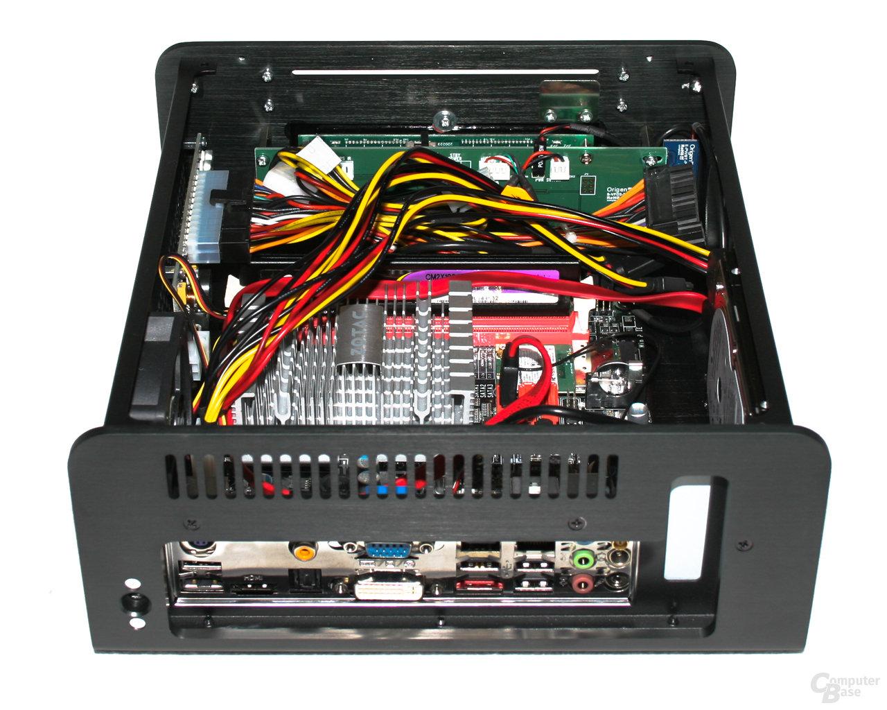 OrigenAE M10 – Innenansicht mit Hardware
