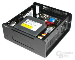OrigenAE M10 – Verbautes Laufwerk