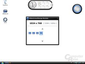 OrigenAE M10 – Auflösung ändern