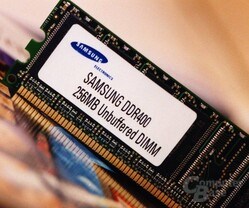 Samsung DDR400-Muster