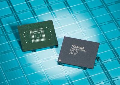 64 GB großes NAND-Flash-Modul von Toshiba