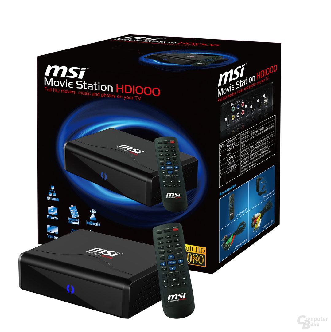 MSI Movie Station HD1000
