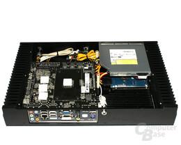 Soartec picoX – Innenraum mit Hardware