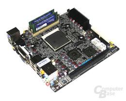 Soartec picoX – Mainboard, Prozessor, Speicher