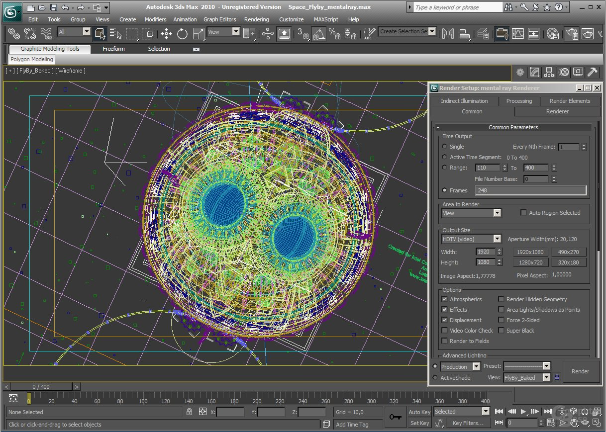 "Autodesk 3ds Max 2010 mit ""SPECapc for 3ds Max 9"""