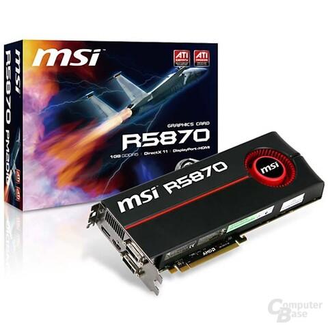 MSI Radeon HD 5870