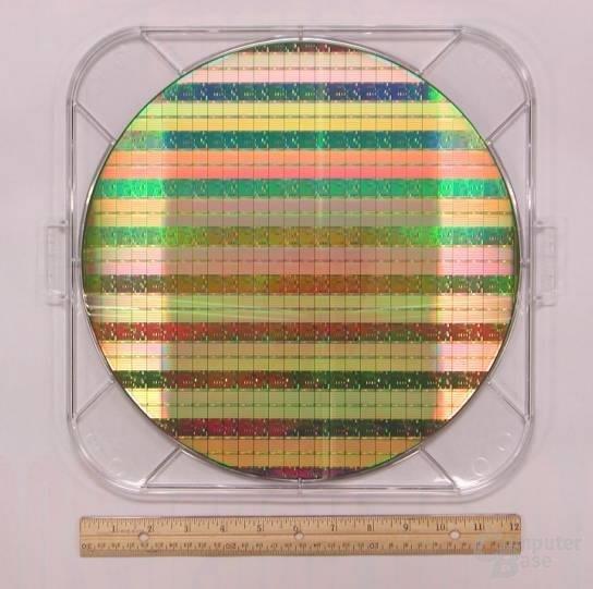 52 Megabit SRAM Zellen in 90nm auf 300mm Wafer