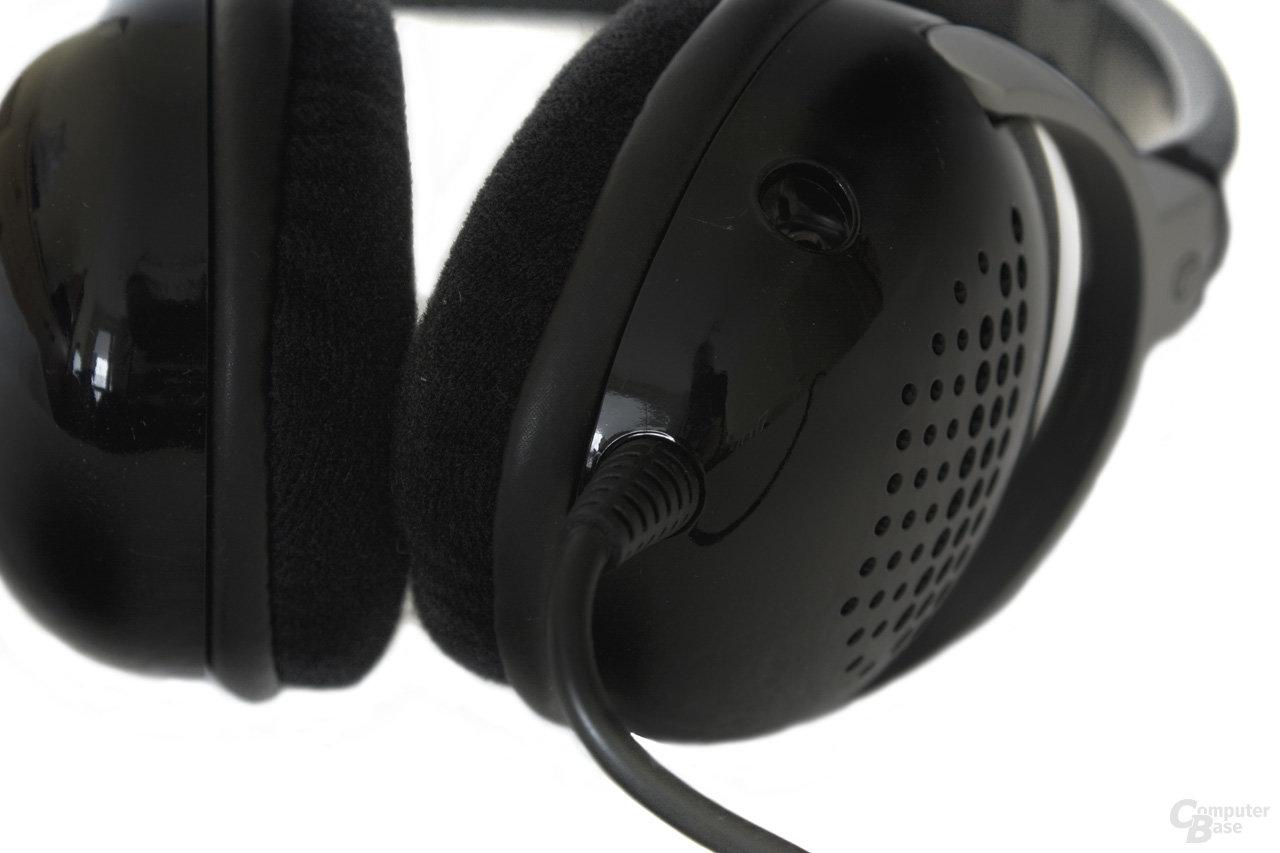 fest verbundenes Audiokabel