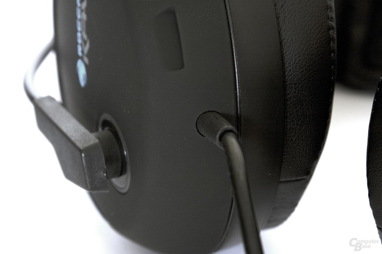 festes Kabel auch beim Roccat Kave Solid 5.1