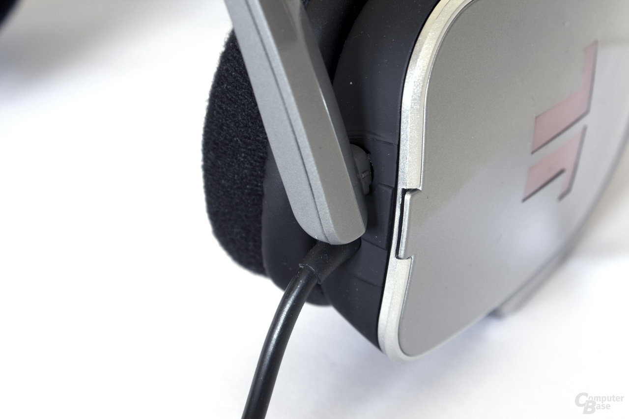 Mikrofon- und Kopfhöreranschluss