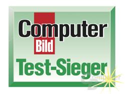 """COMPUTER BILD (Ausgabe 21/2009, Note 2,31 """"gut"""")"""