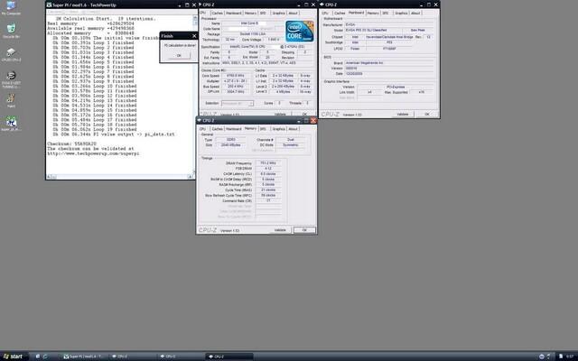 Neuer SuperPi-Rekord mit Intel Core i5-670 bei 6,92 GHz
