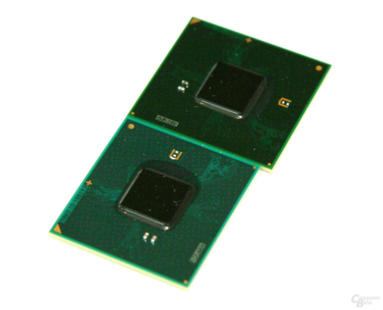 Chipsätze im Größenvergleich