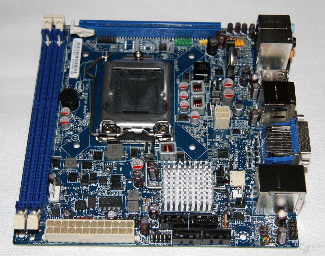Fünf H55/H57/Q57-Mainboards von Intel