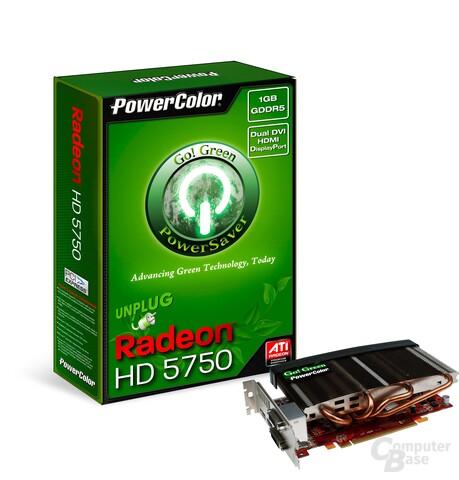 PowerColor Radeon HD 5750 Go! Green