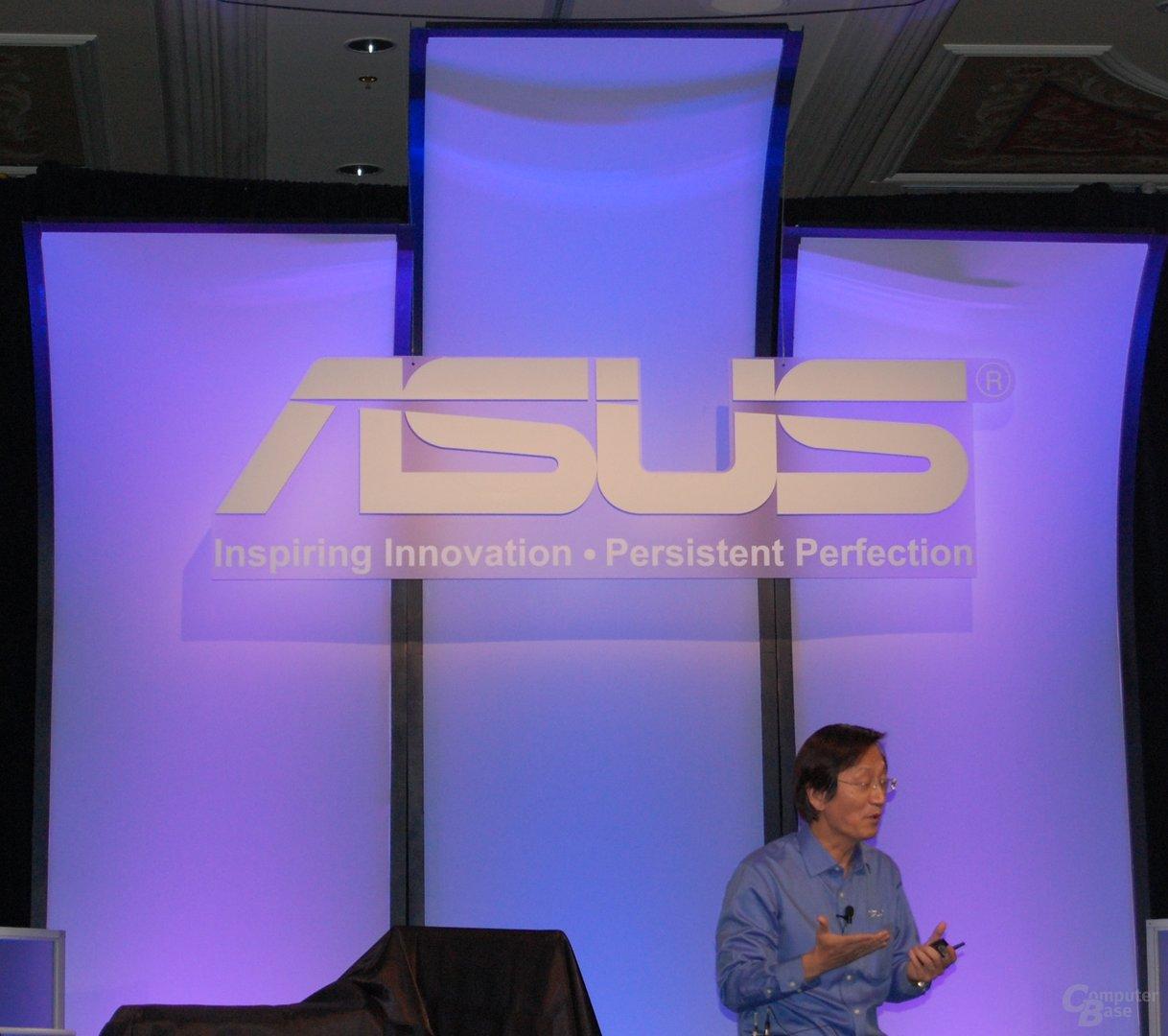 Asus-Chairman Jonney Shih auf der CES 2010