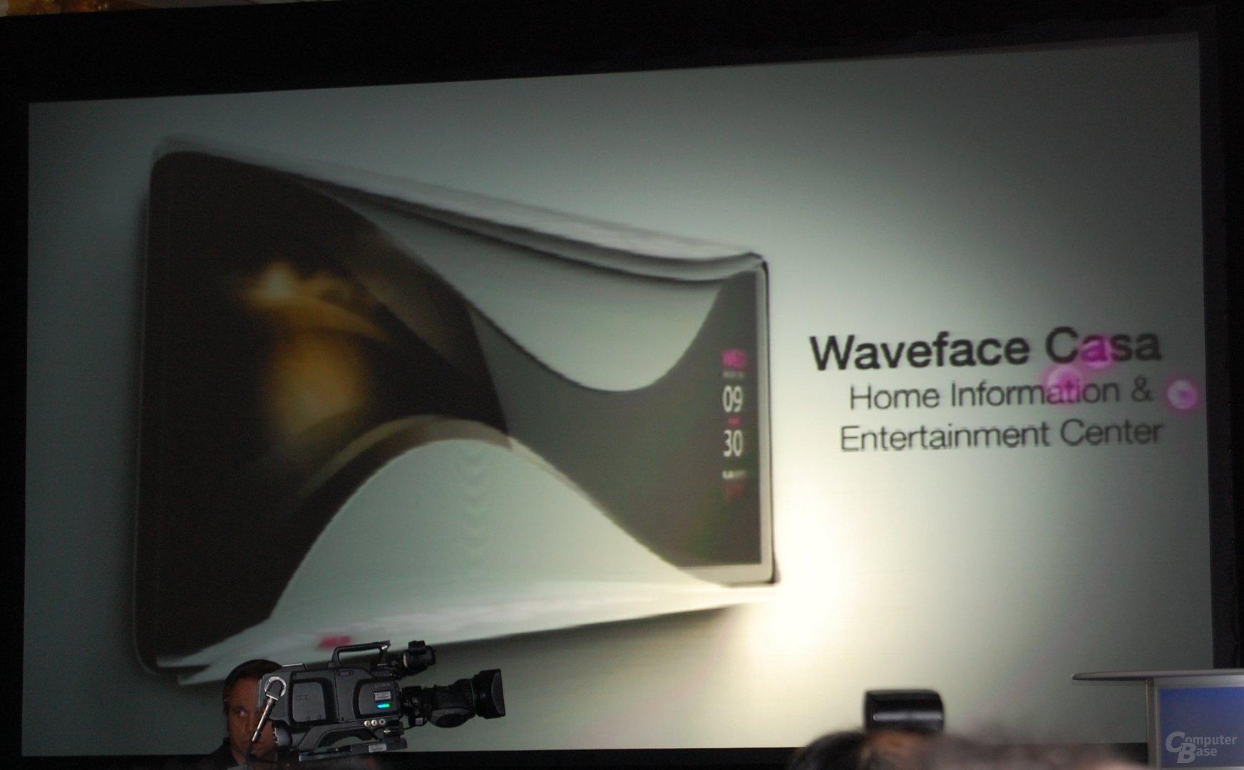 "Asus ""waveface"" Design-Studie"