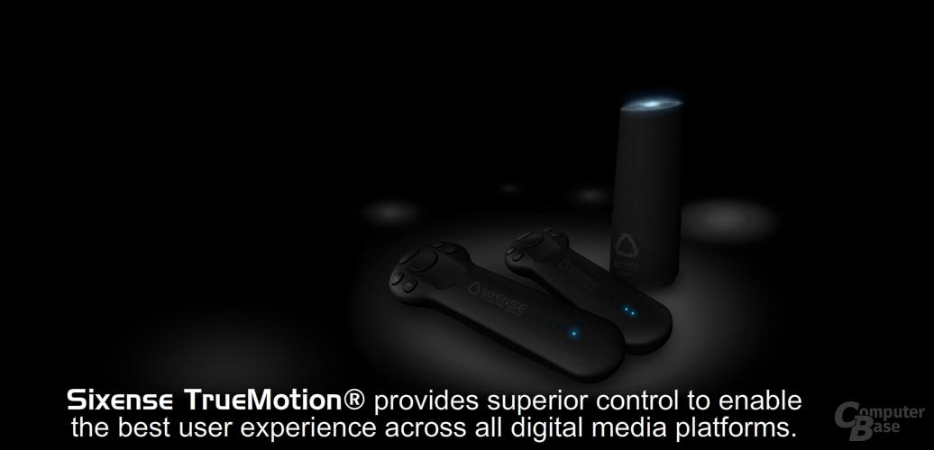 Motion-Controller von Razer und Sixense