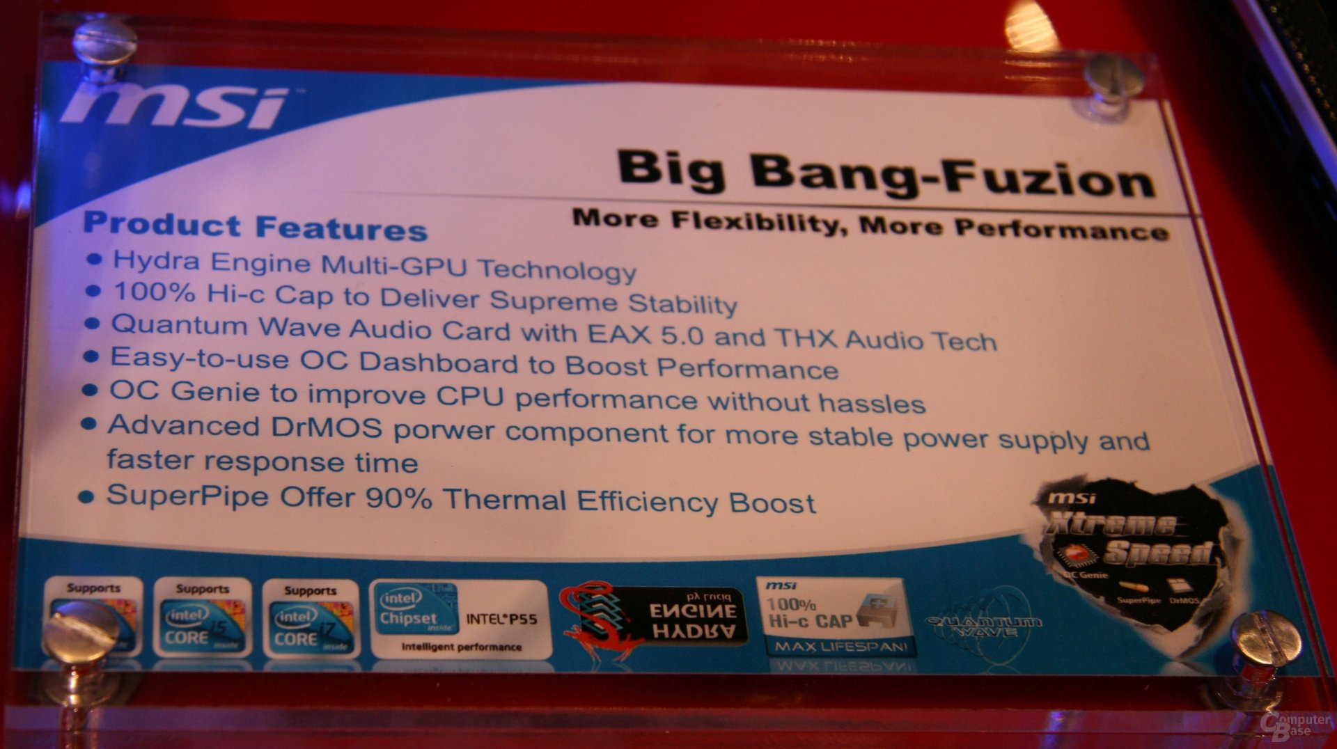 CES 2010: MSI Big Bang Fuzion