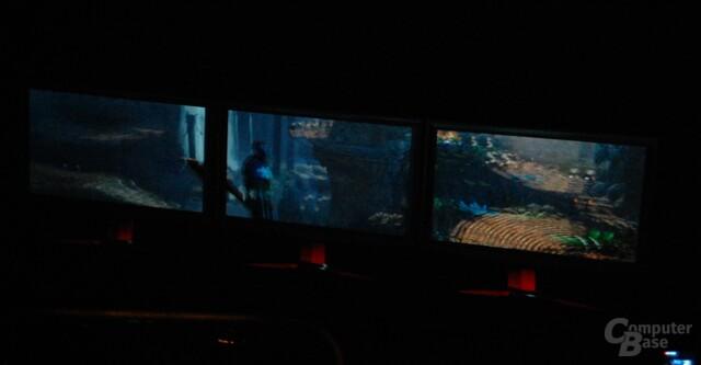 3D Vision Surround auf GeForce GF100 Fermi