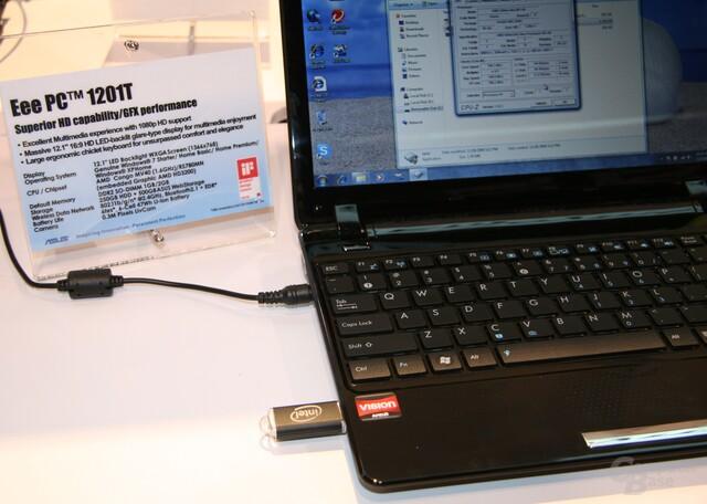 Asus Eee PC mit AMD-Prozessor