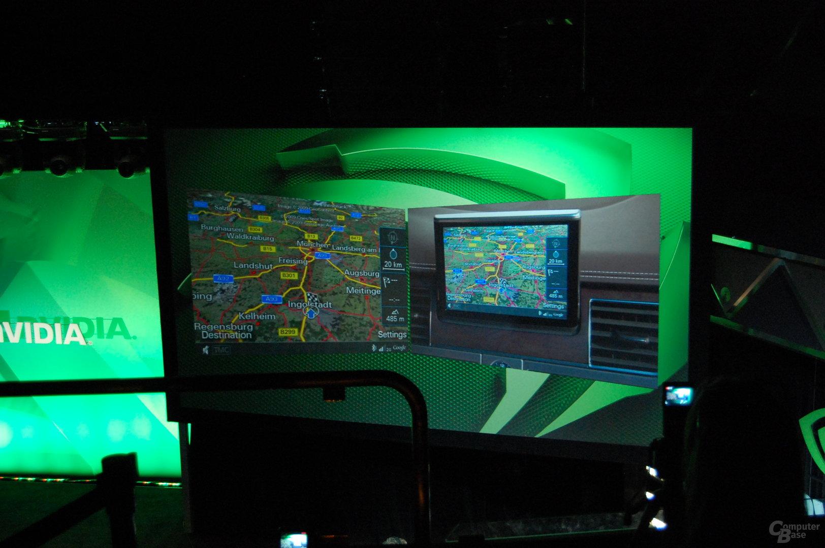 Audi setzt auf Nvidia Graphics und Tegra