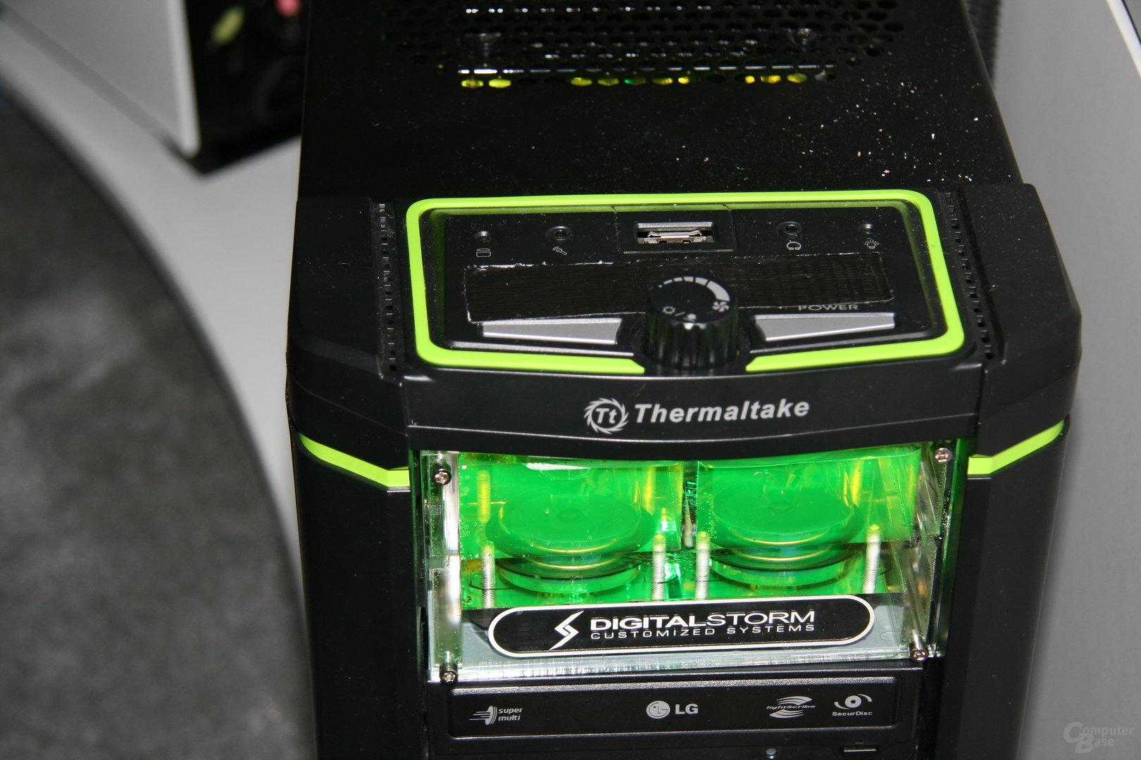 Lauffähige Nvidia GeForce GF100 Fermi