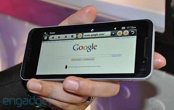 LG GW990 - ein Mega-Smartphone auf Moorestown-Basis