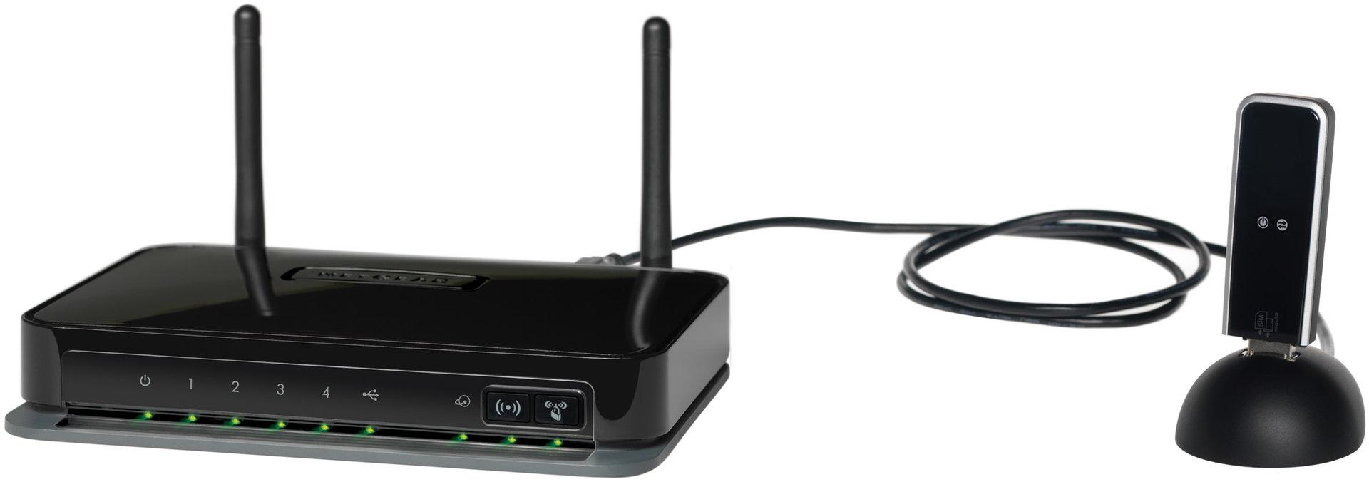 Neatgear MBRN3000 mit USB-Dock