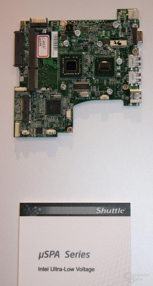 Shuttle: Innenleben der aktuellen Notebooks