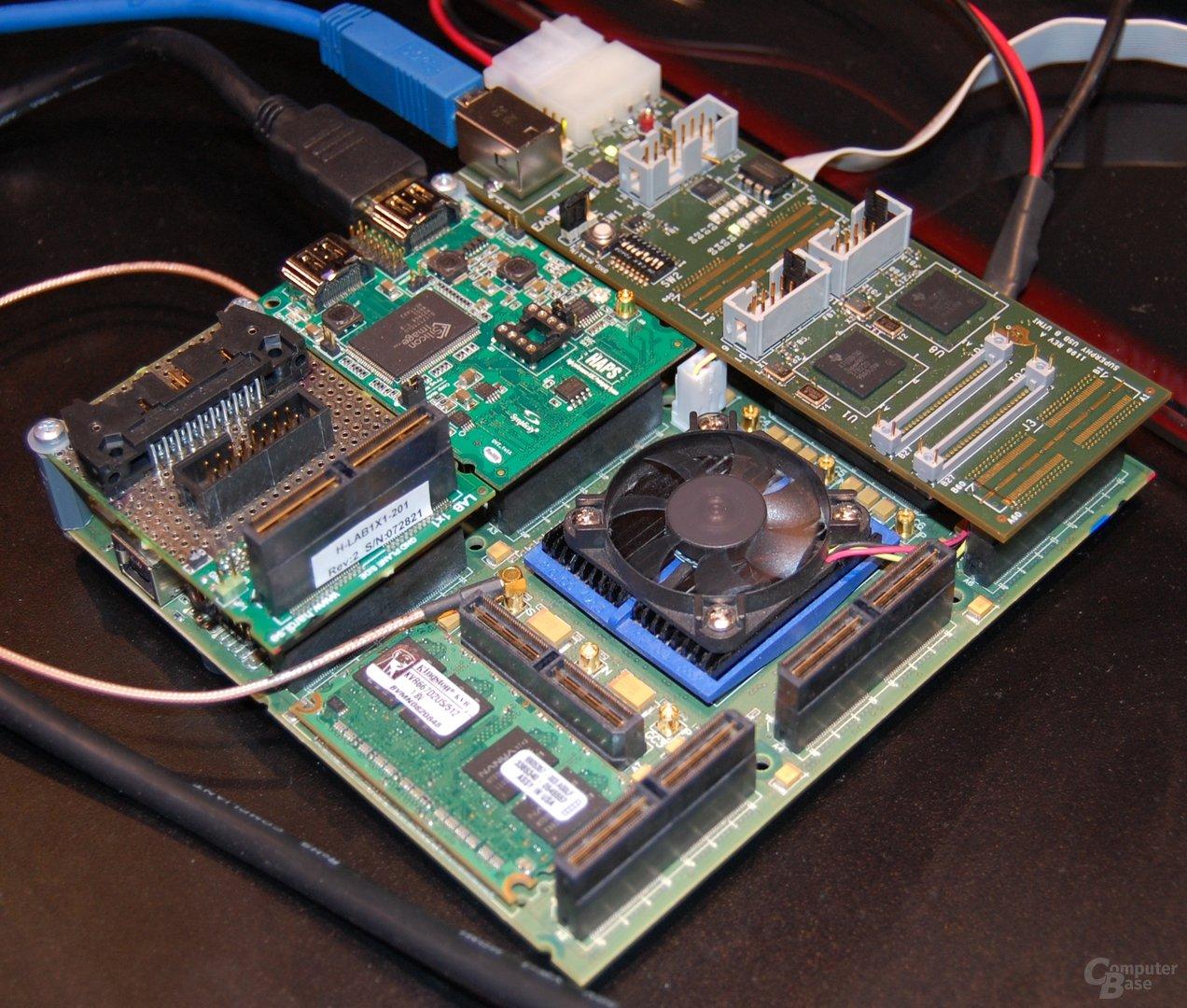 DisplayLink mit USB-3.0-Adapter