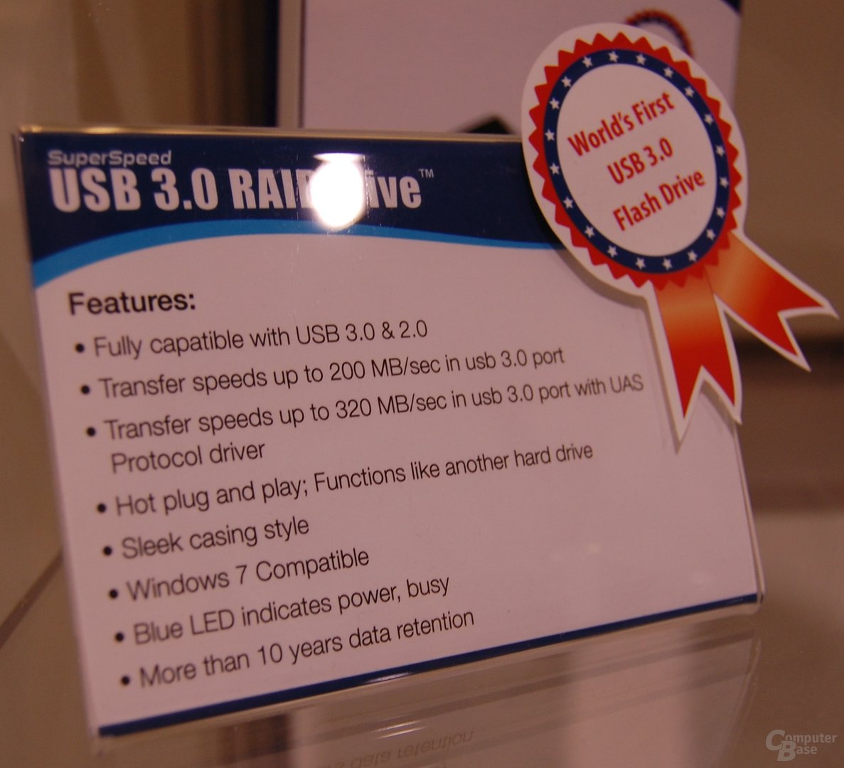 USB-3.0-Stick von Super Talent