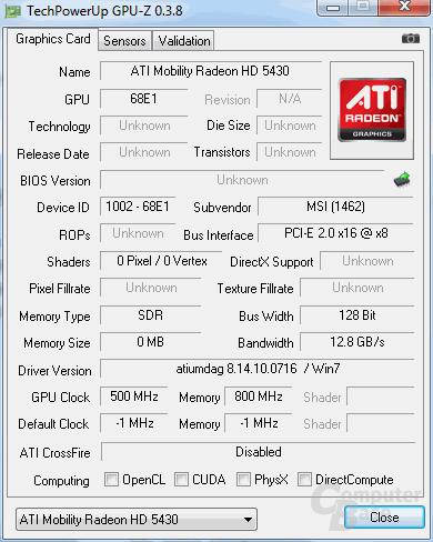 Mobility Radeon HD 5430