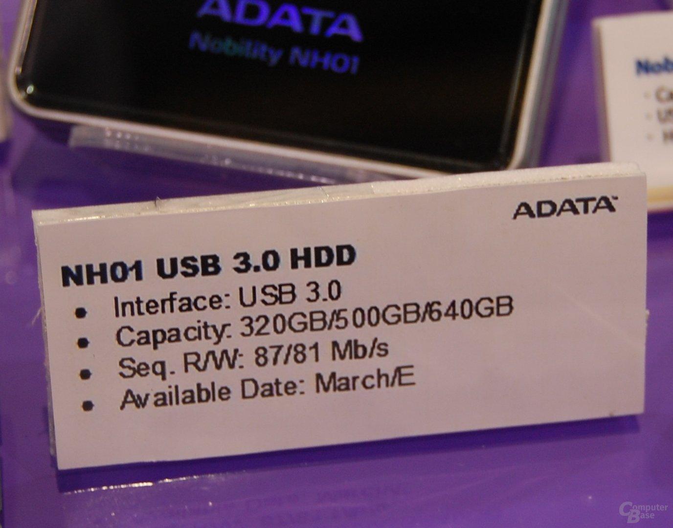 Externe USB-3.0-Festplatten von A-Data