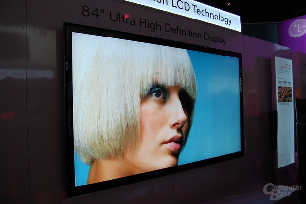 "84"" Ultra High Definition Display von LG"