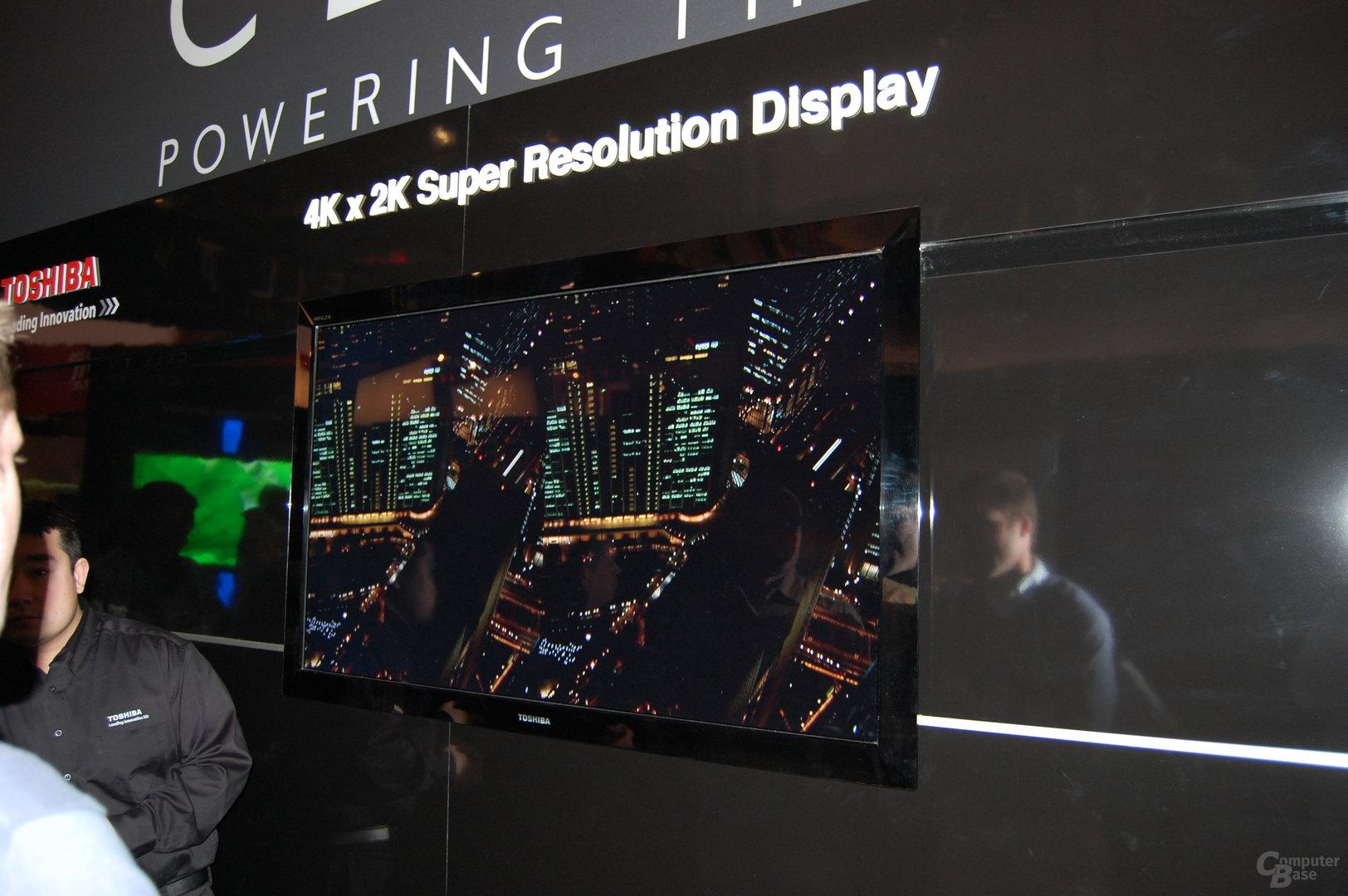 Ultra High Definition Display von Toshiba