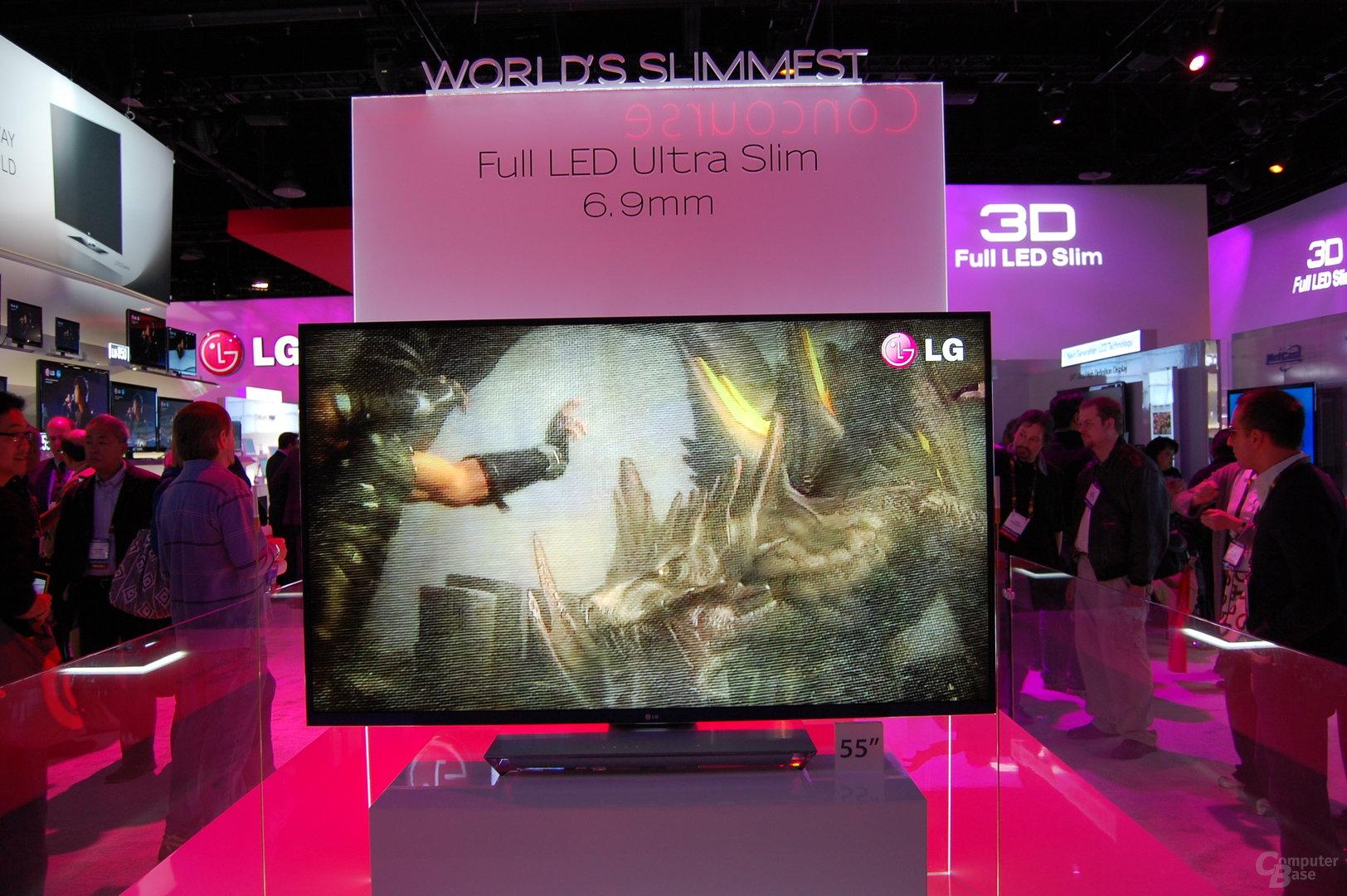 LG LED-TV lediglich 6,9 mm dick