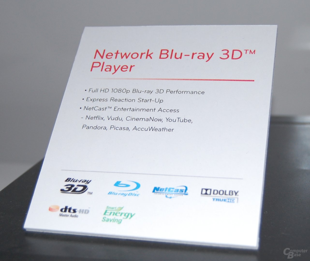 3D Blu-ray-Player von LG
