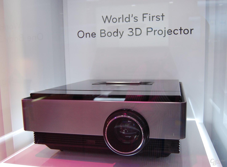 3D Beamer von LG