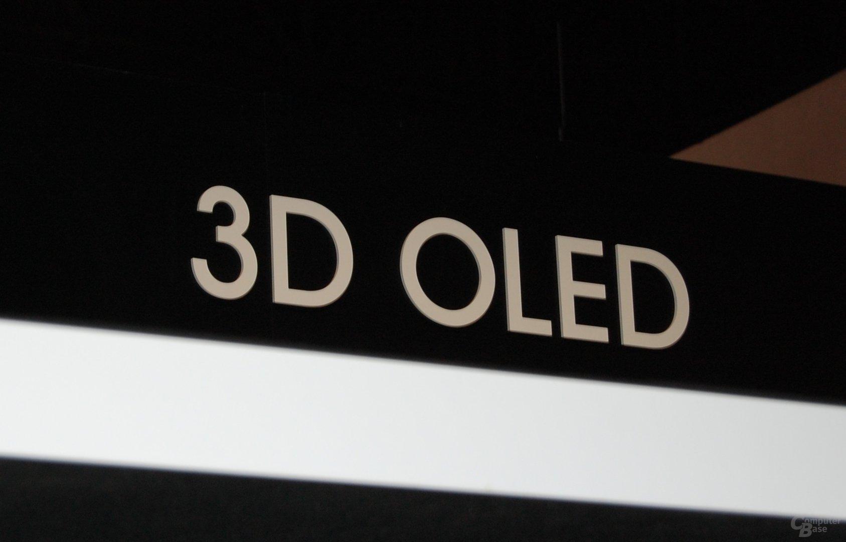 3D OLED von Sony