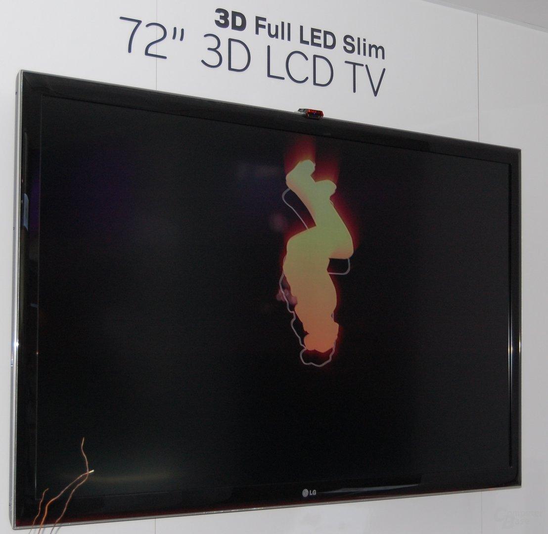 3D HDTVs bei LG