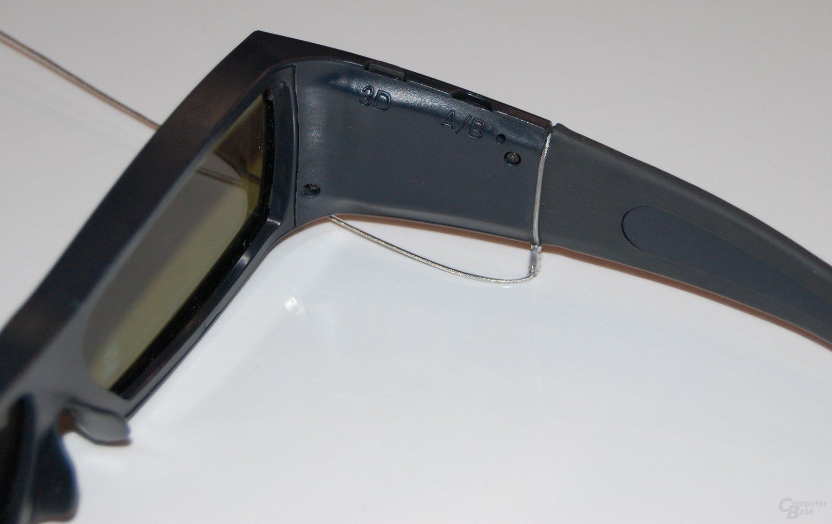 3D Shutterbrille von Sharp
